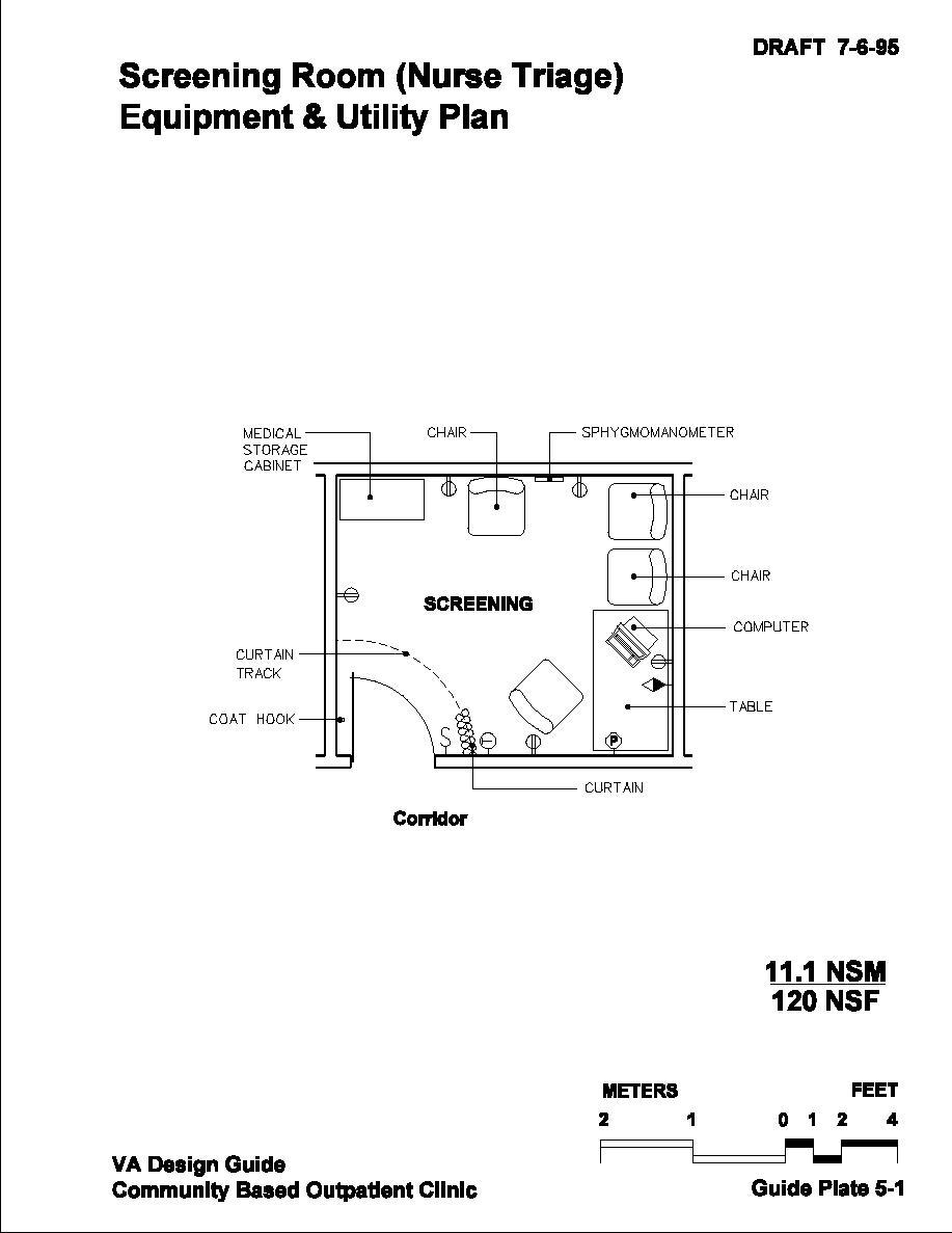 Triage Room Design