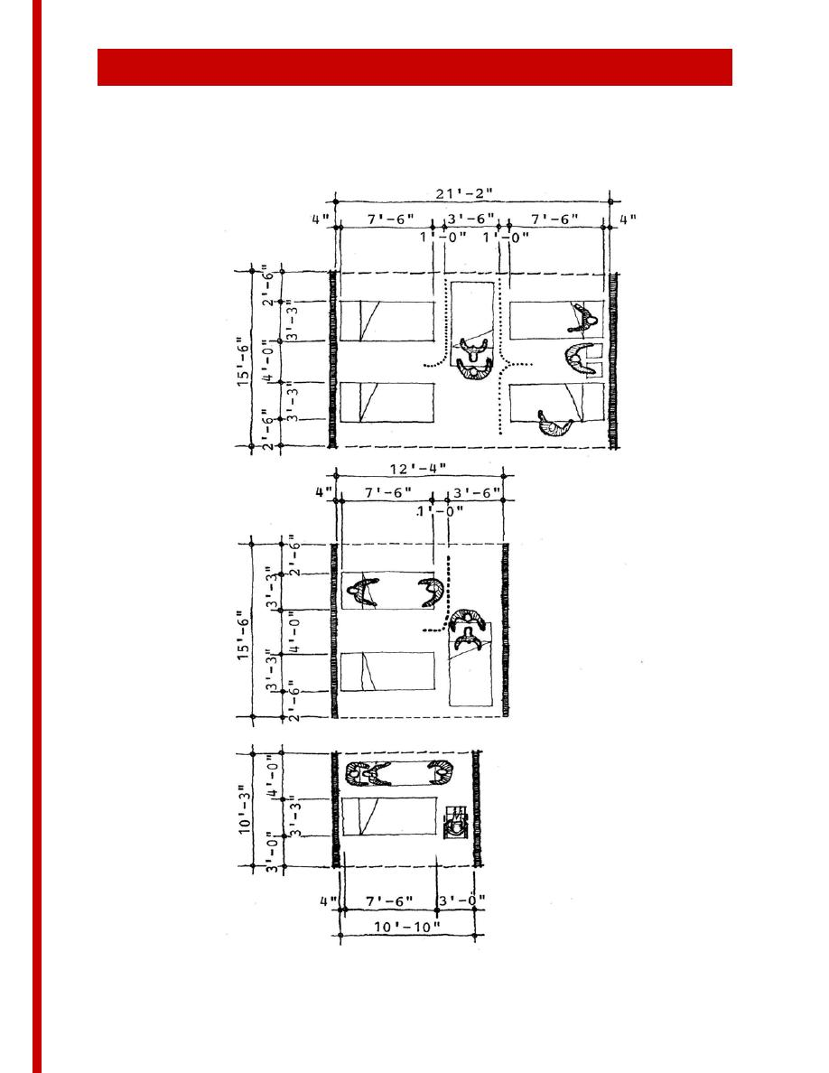 Hospital Patient Room Dimensions