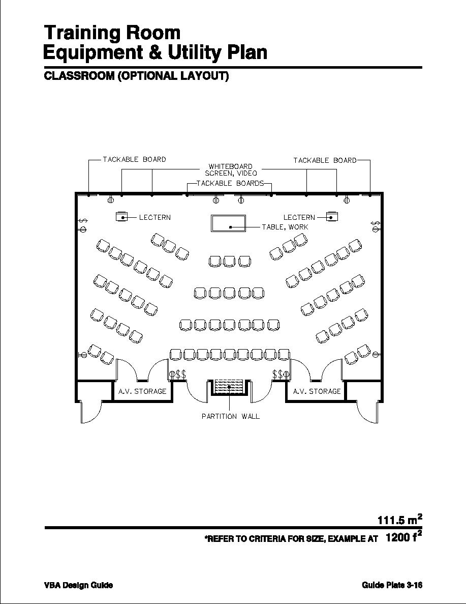 Training room classroom optional layout for Training room design layout
